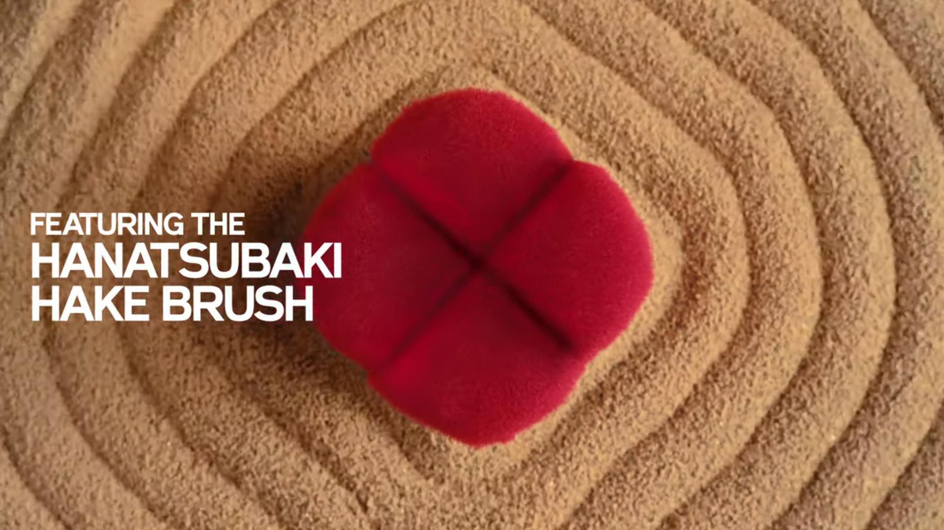 Hanatsubaki Hake Face Brush