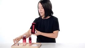 Tutoriel pour adoucir la peau avecEudermine | SHISEIDO